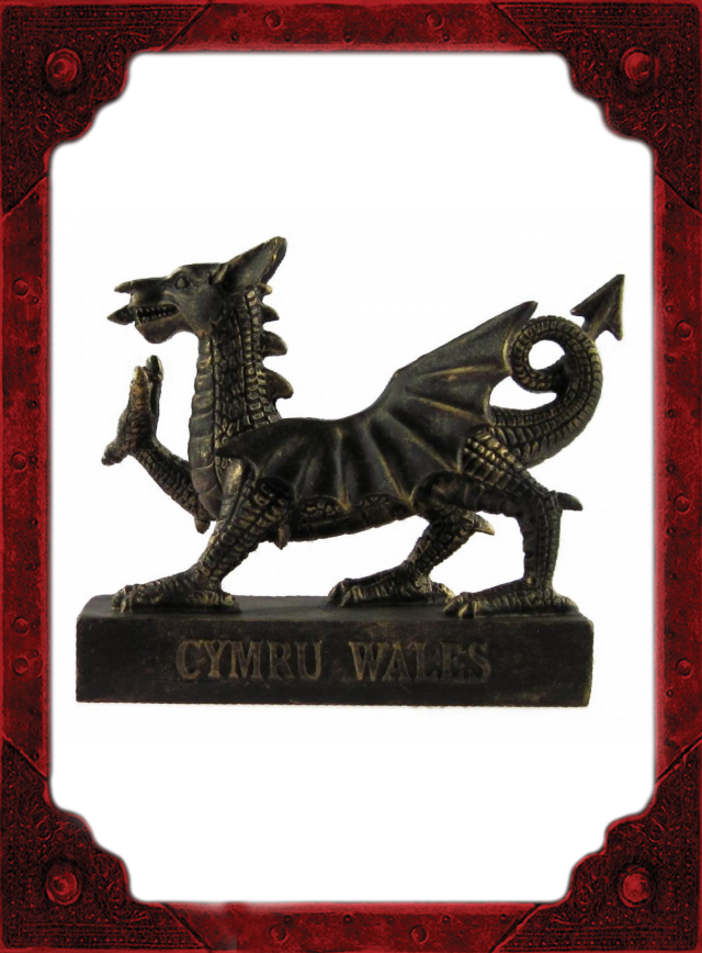 NC0048 Wales Dragon Model Large