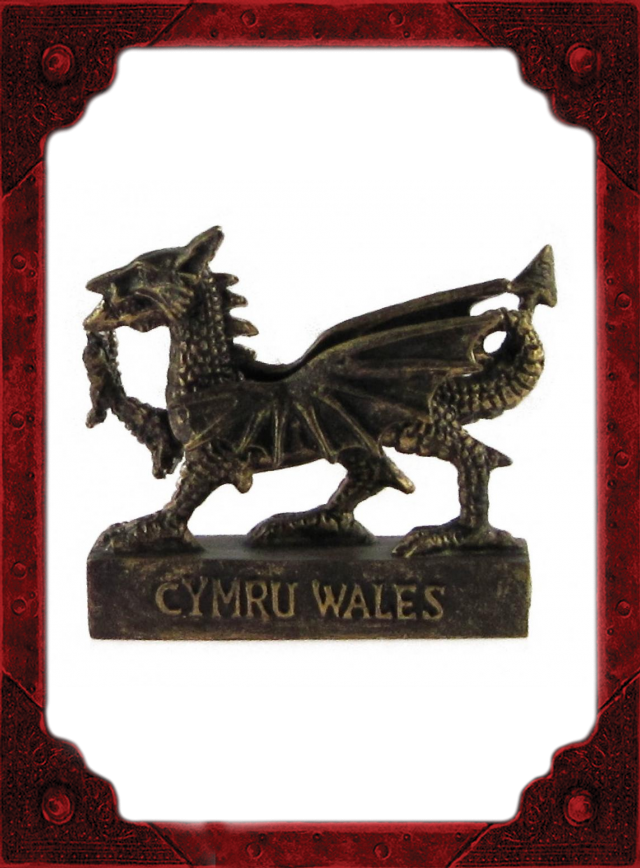 NC0049 Wales Dragon Model Small