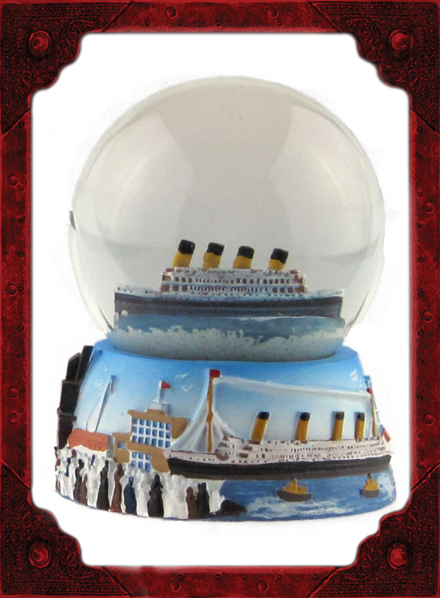 NC0086 Titanic 60mm Snowglobe