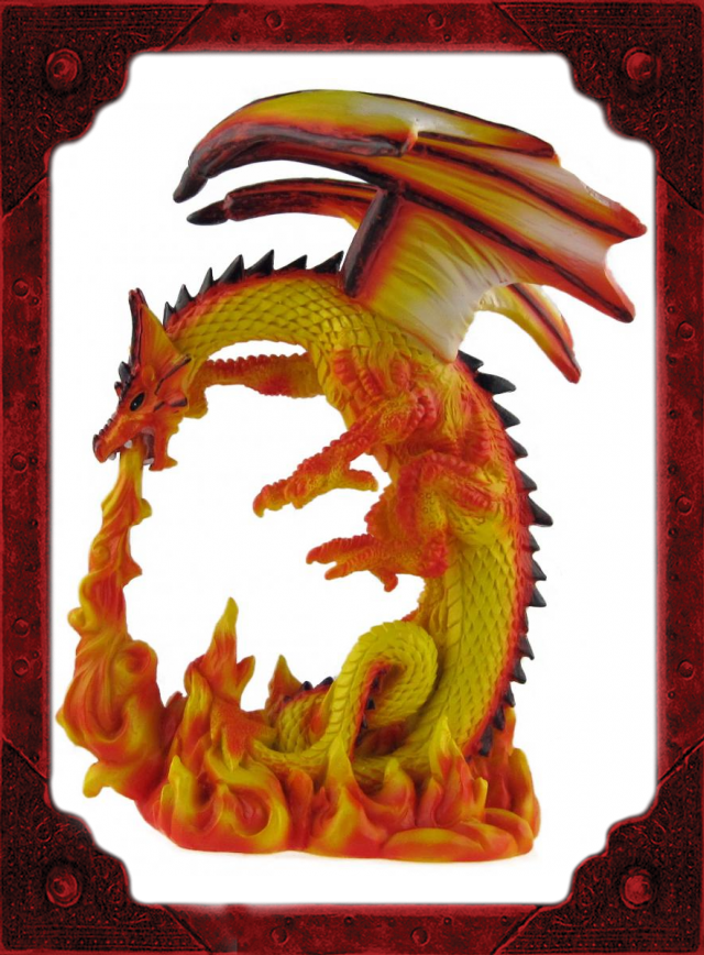 RD0007 Fire Dragon Medium A