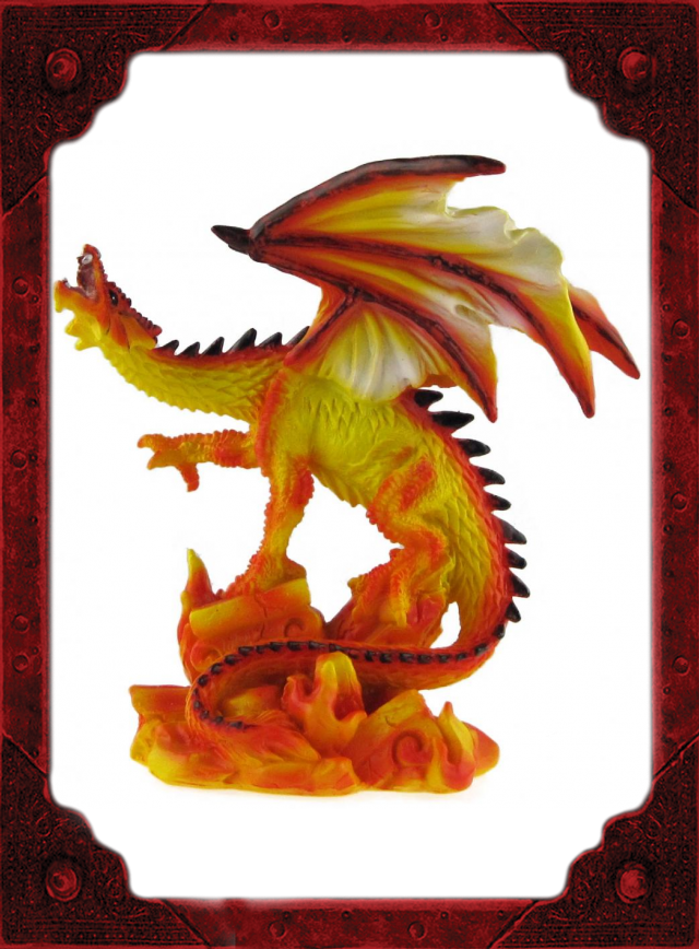 RD0010 Fire Dragon Small B